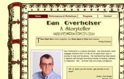 Dan Overholser, A Storyteller